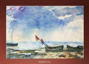 "Картина ""Рыбачьи лодки""."